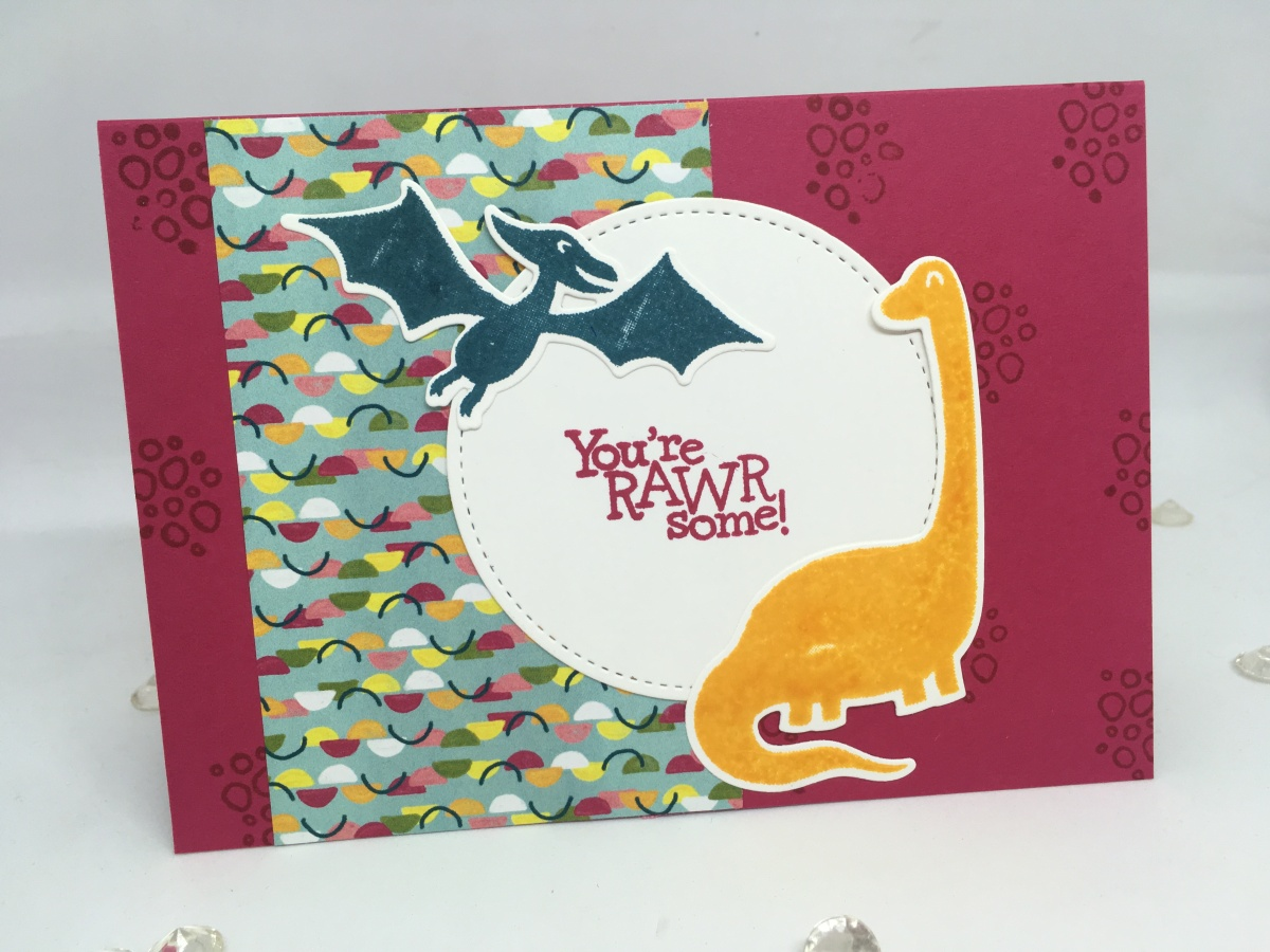 You're Rawrsome! Dino Days Card