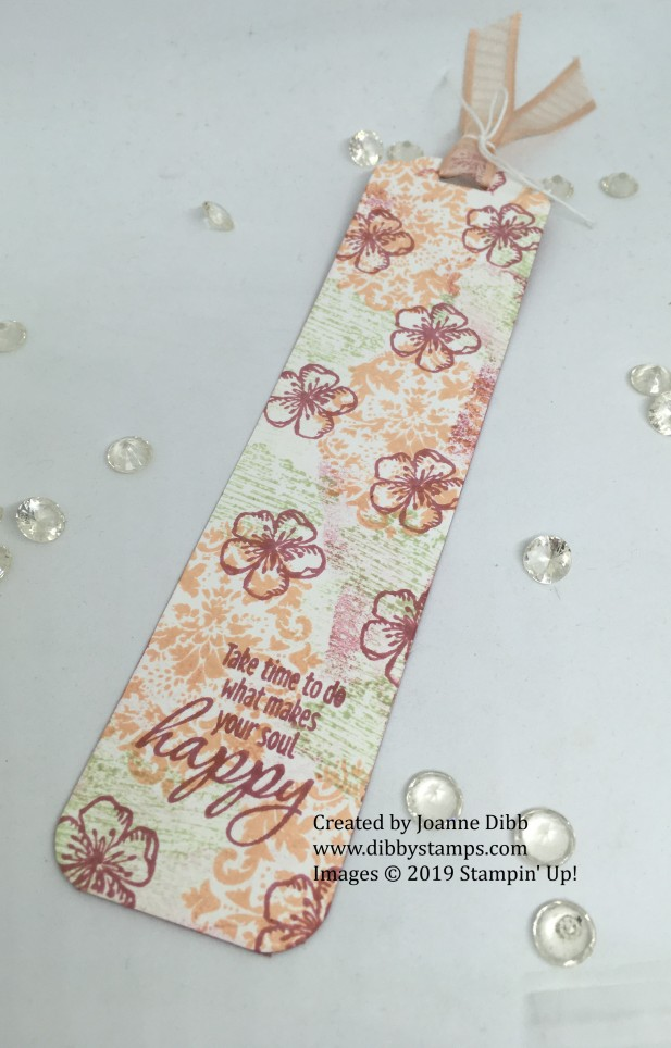 Tasteful Textures Bookmark