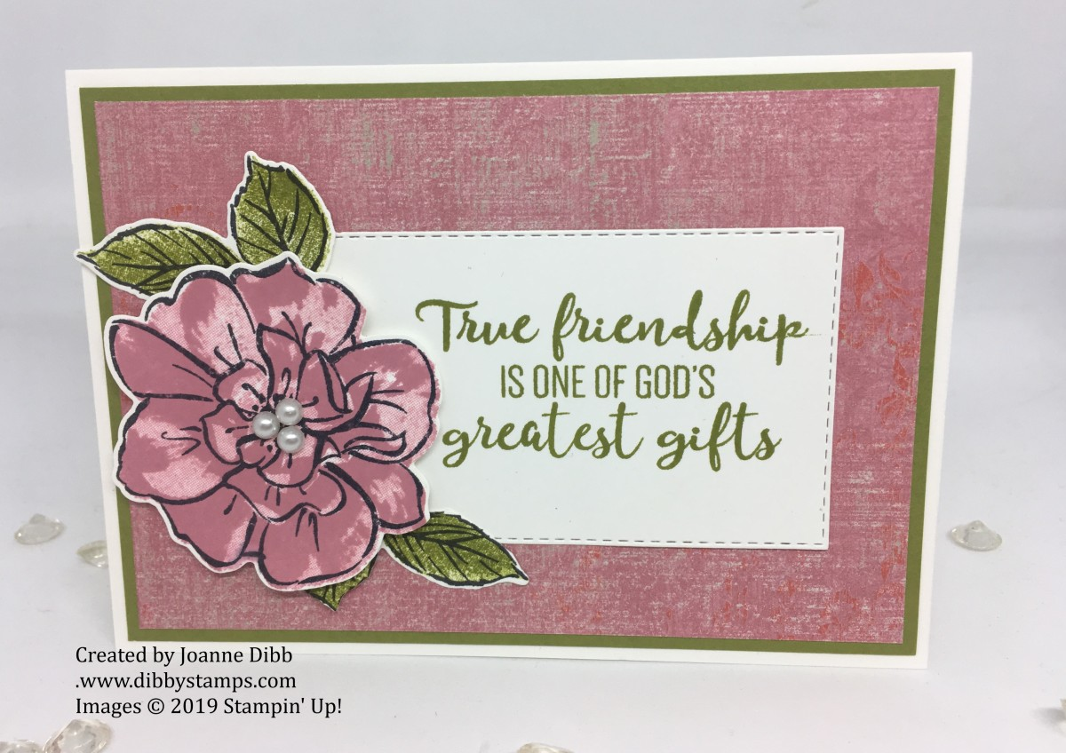 Wild Rococo Rose FriendshipCard