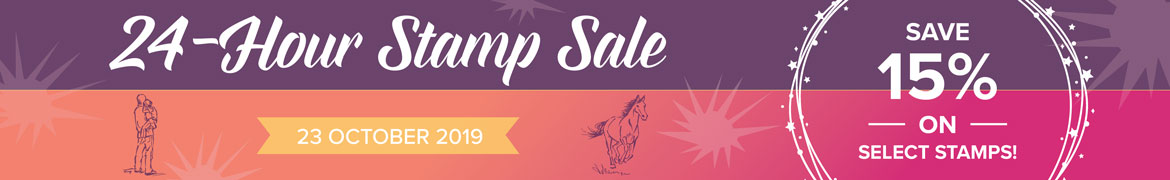 24 Hour Stamp Sale Starts Now!
