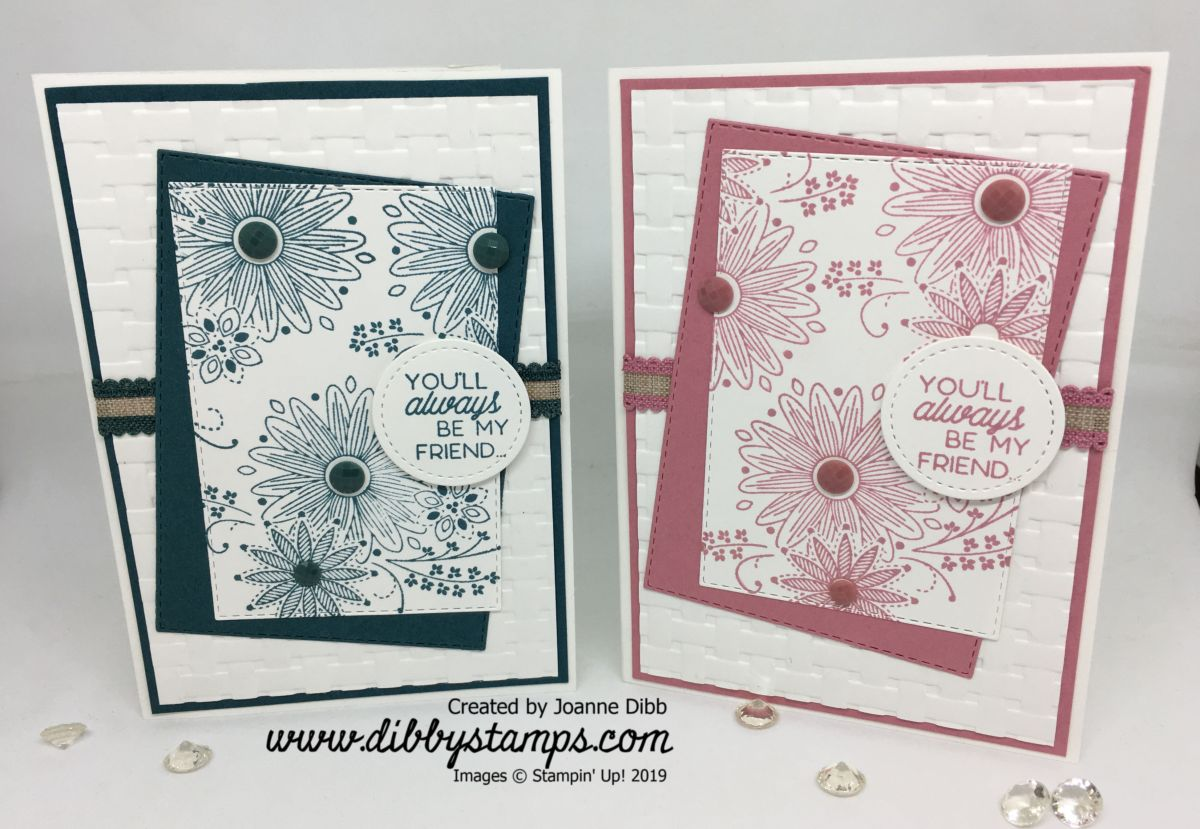 A Little Lace Card Duo