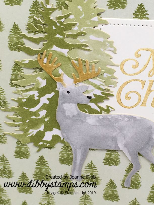 Christmas Tree Reindeer Card (1)