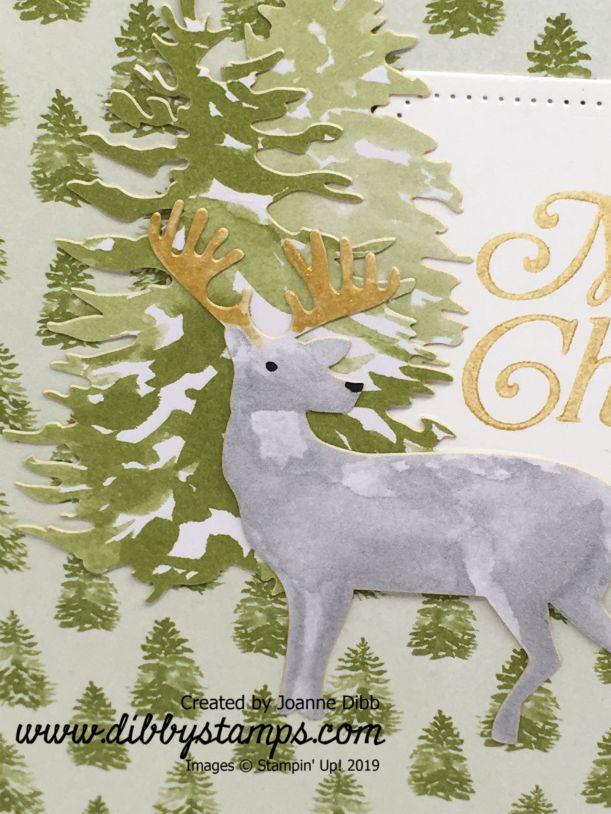 Christmas Tree Reindeer Card (1)