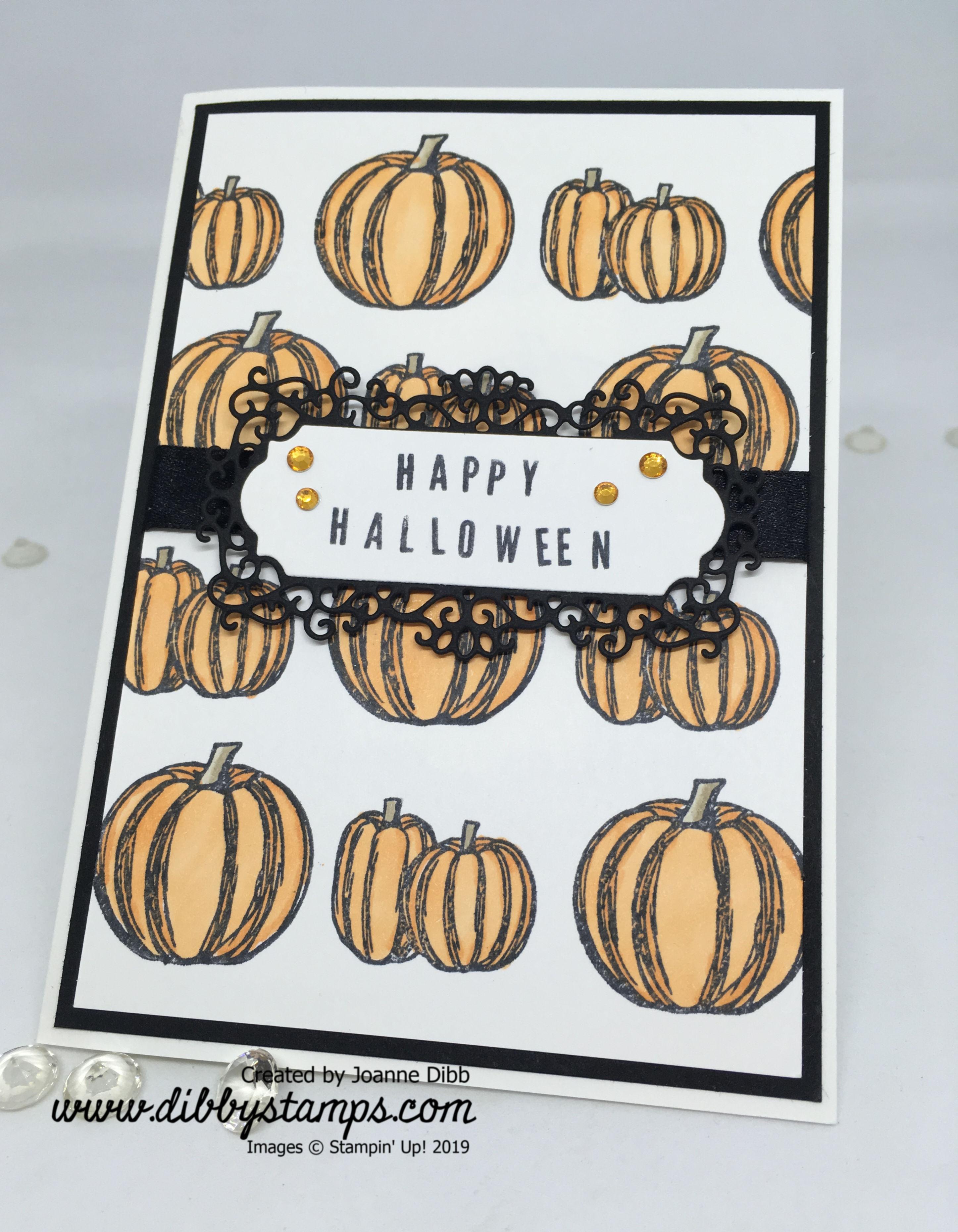 Happy Halloween Card flat