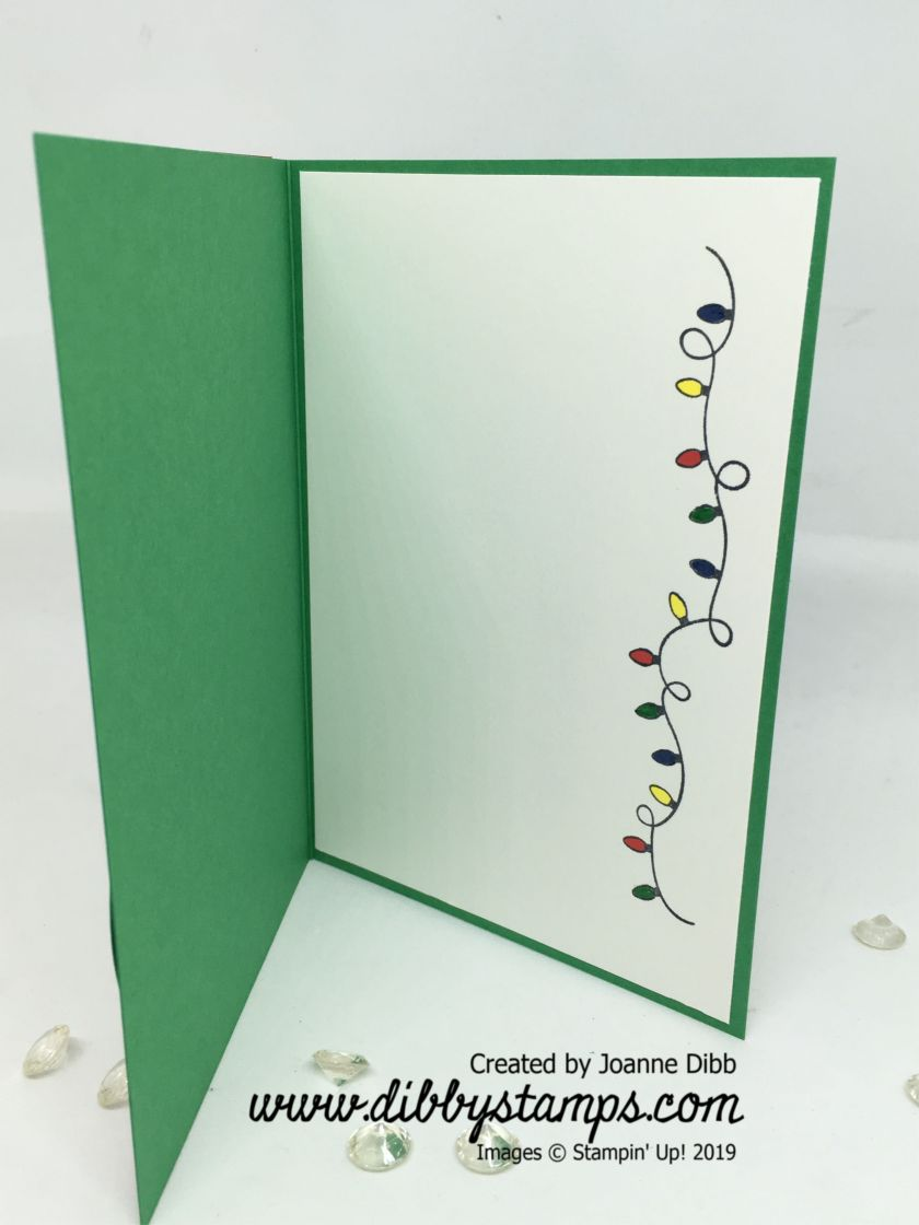 Merry & Bright Card inside