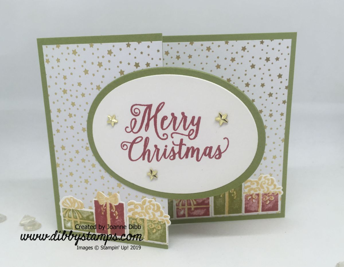 Christmas Parcels Card
