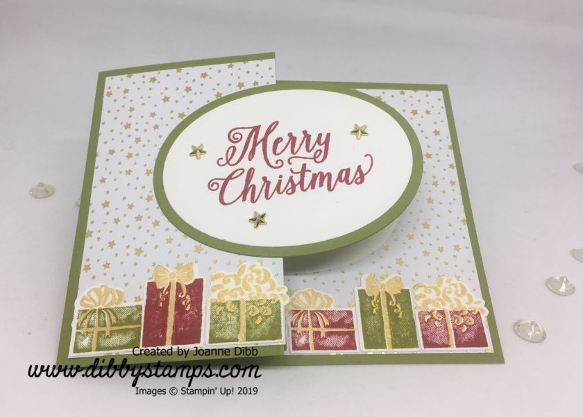 Merry Xmas parcels flat