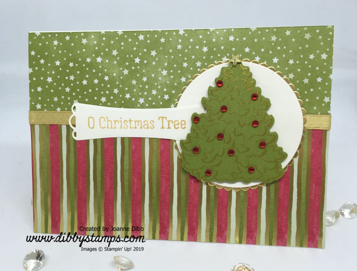 O Christmas Tree Card with the Most Wonderful Time Medley