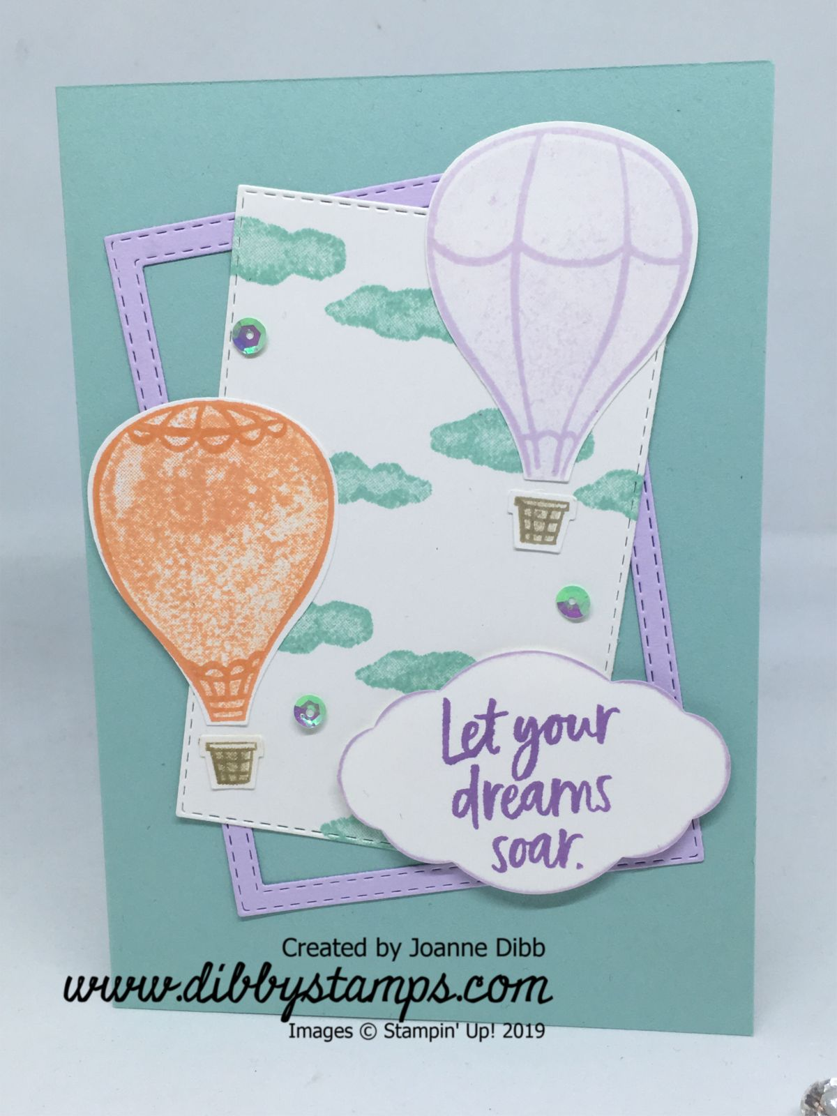 Pastel Above the Clouds Card