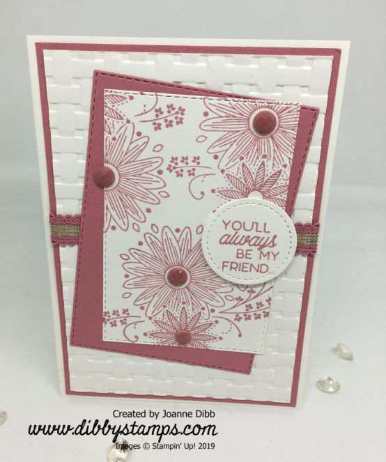Rococo Rose A Little Lace Card