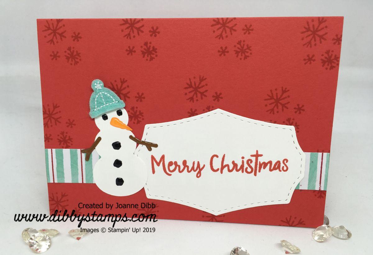 Simple Snowman Card