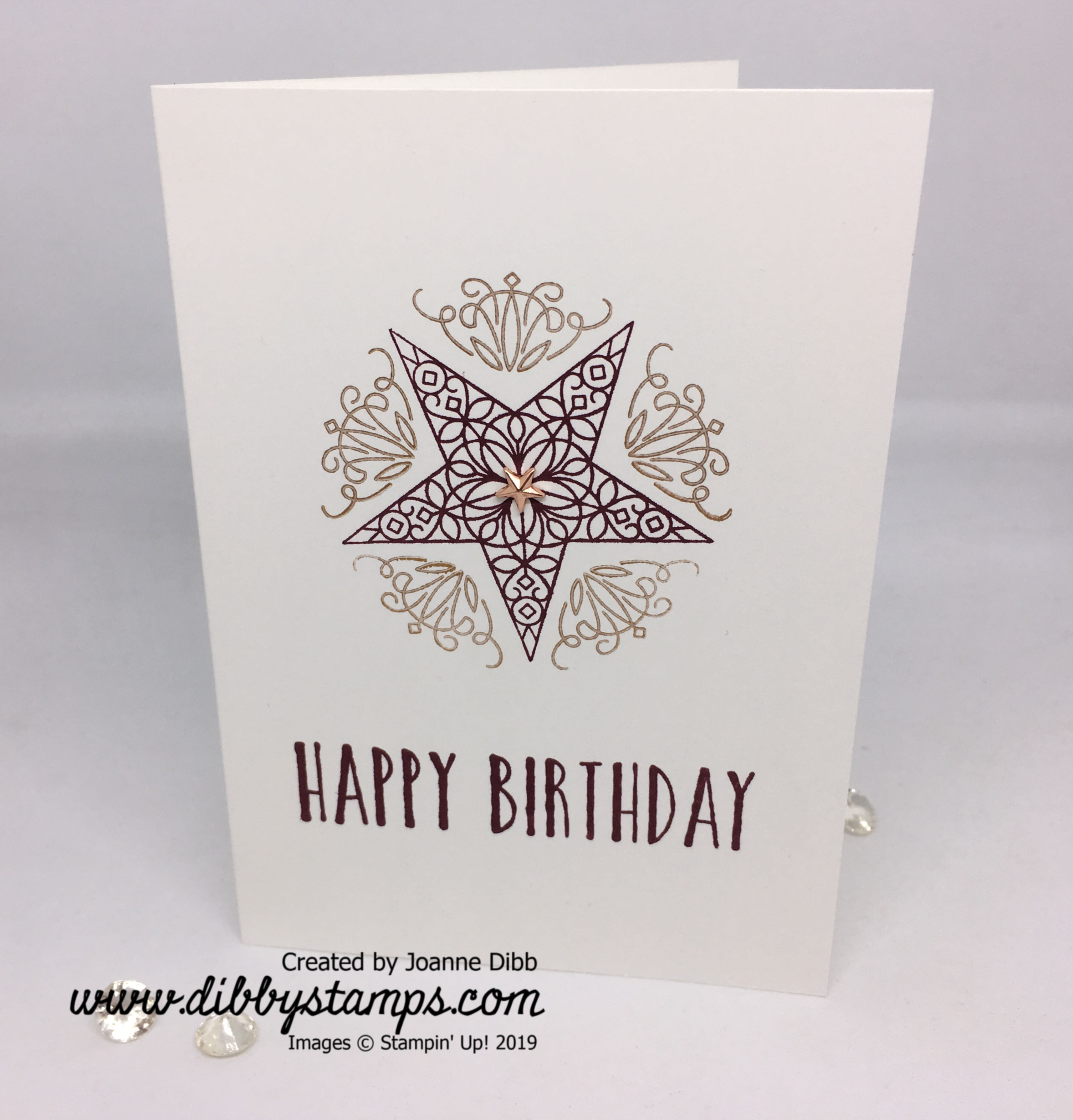 Simple stamping_ So Many Stars 1