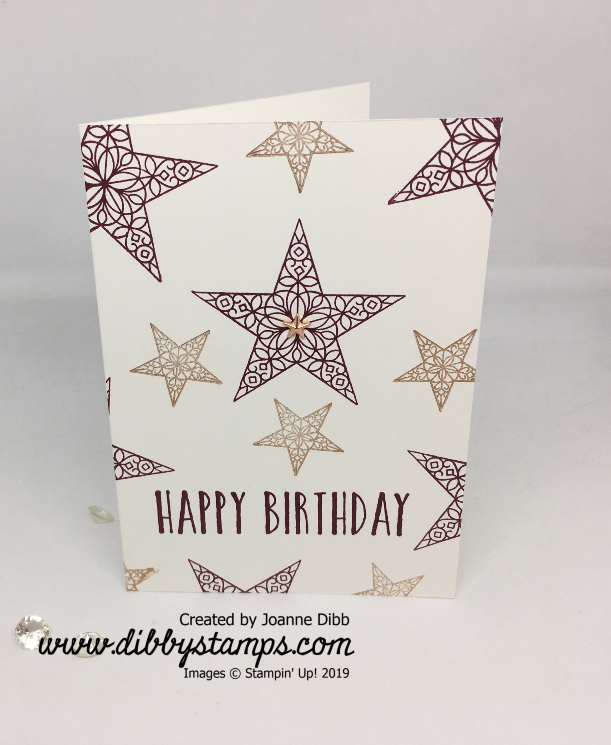 Simple Stamping_ So Many stars 2