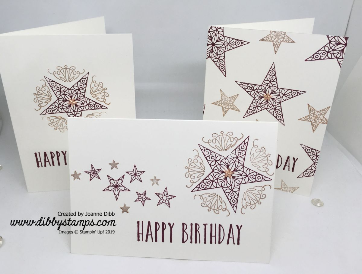 Simple Stamping: So Many Stars