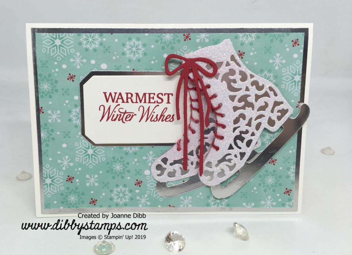 Sparkly Skates ChristmasCard