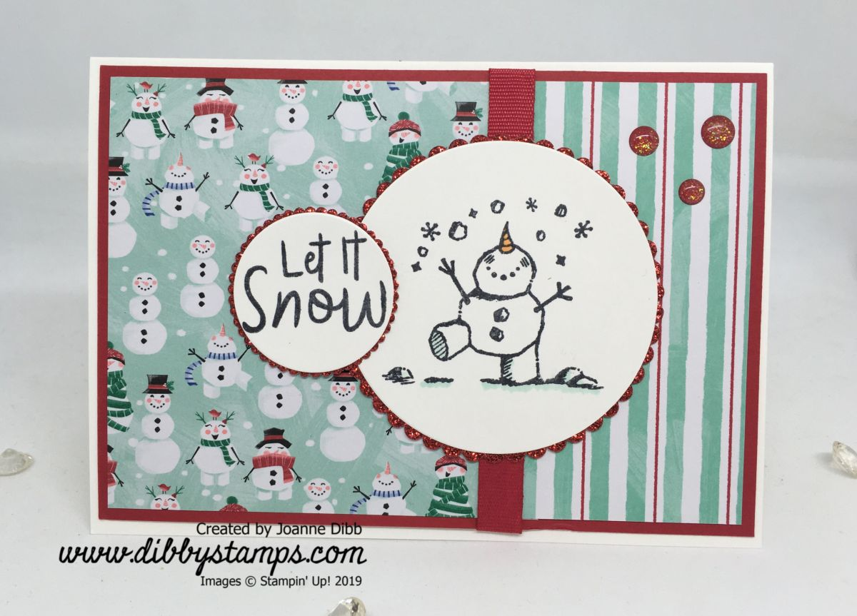 Let It Snow-Man Card