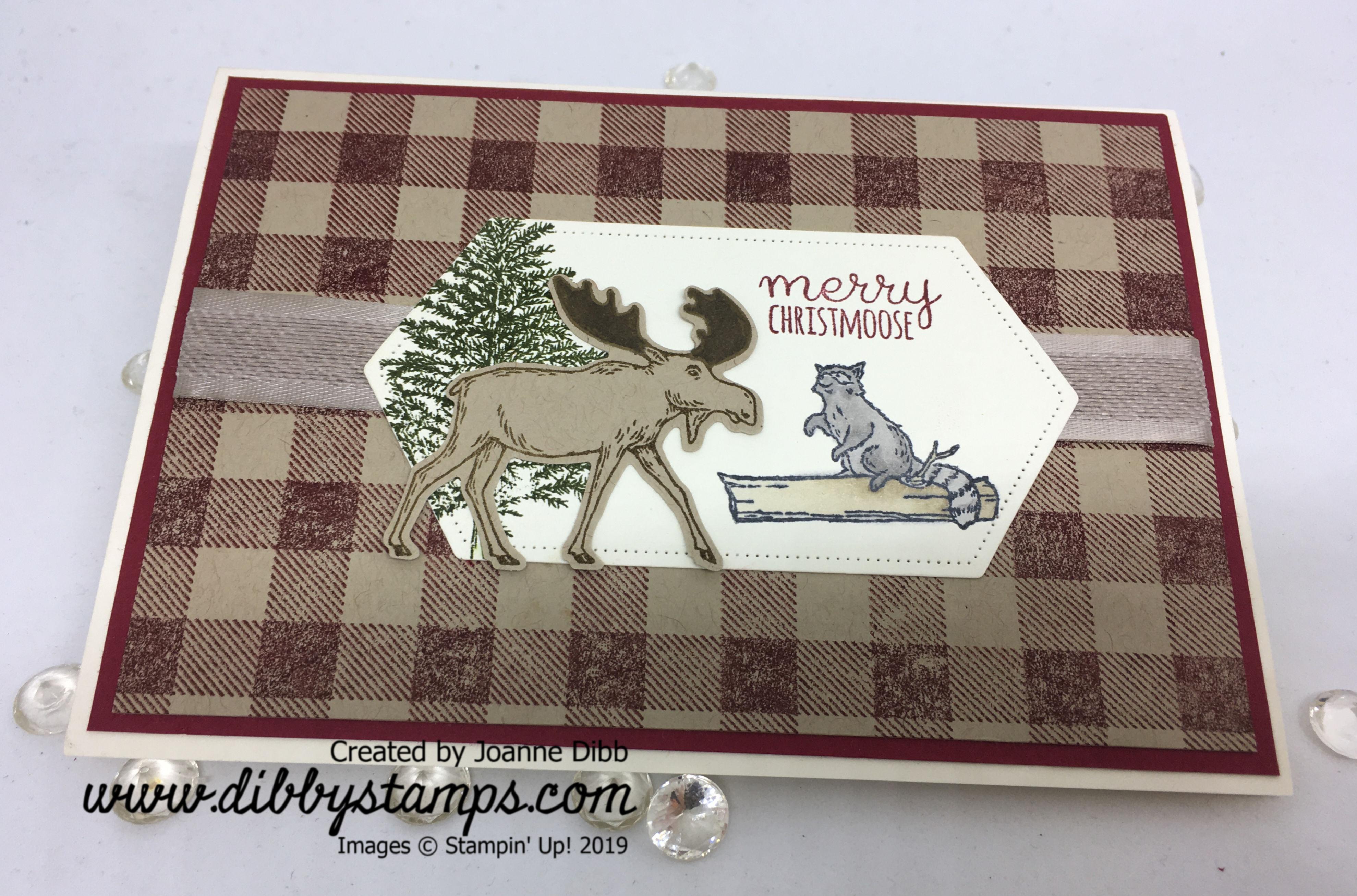 Merry Christmoose Card - flat