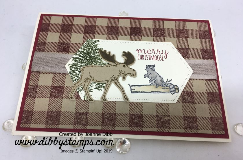 Merry Christmoose Card - flat