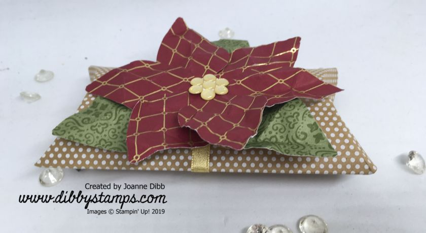 Poinsettia Pillow Box 2
