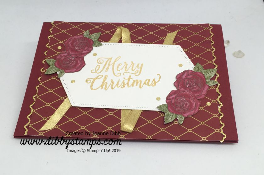 Rose & Ribbon Card