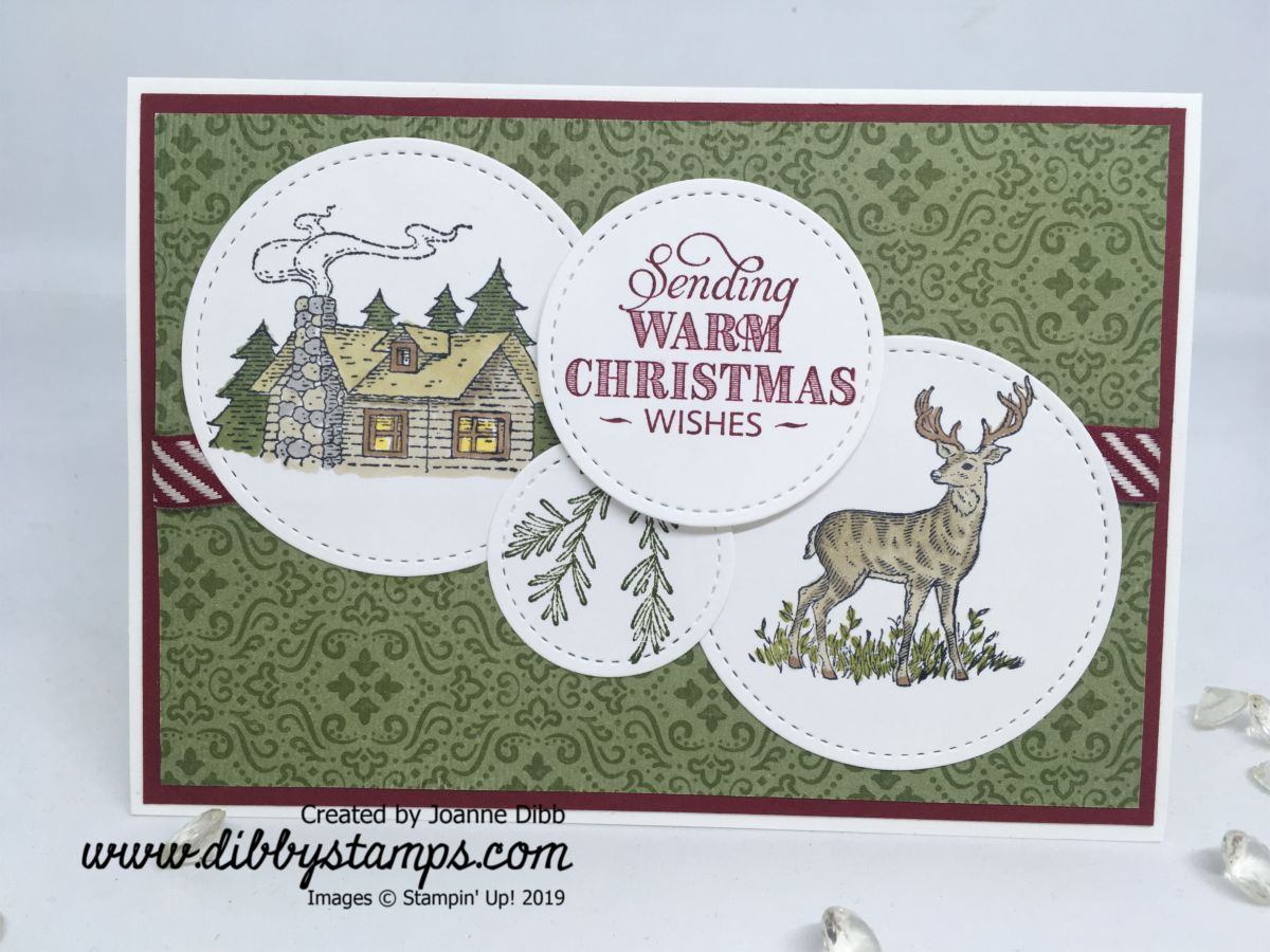 Rustic Retreat Christmas Card