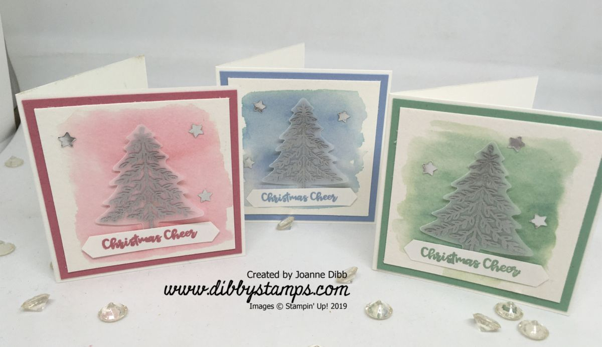 Silver Tree Card Trio