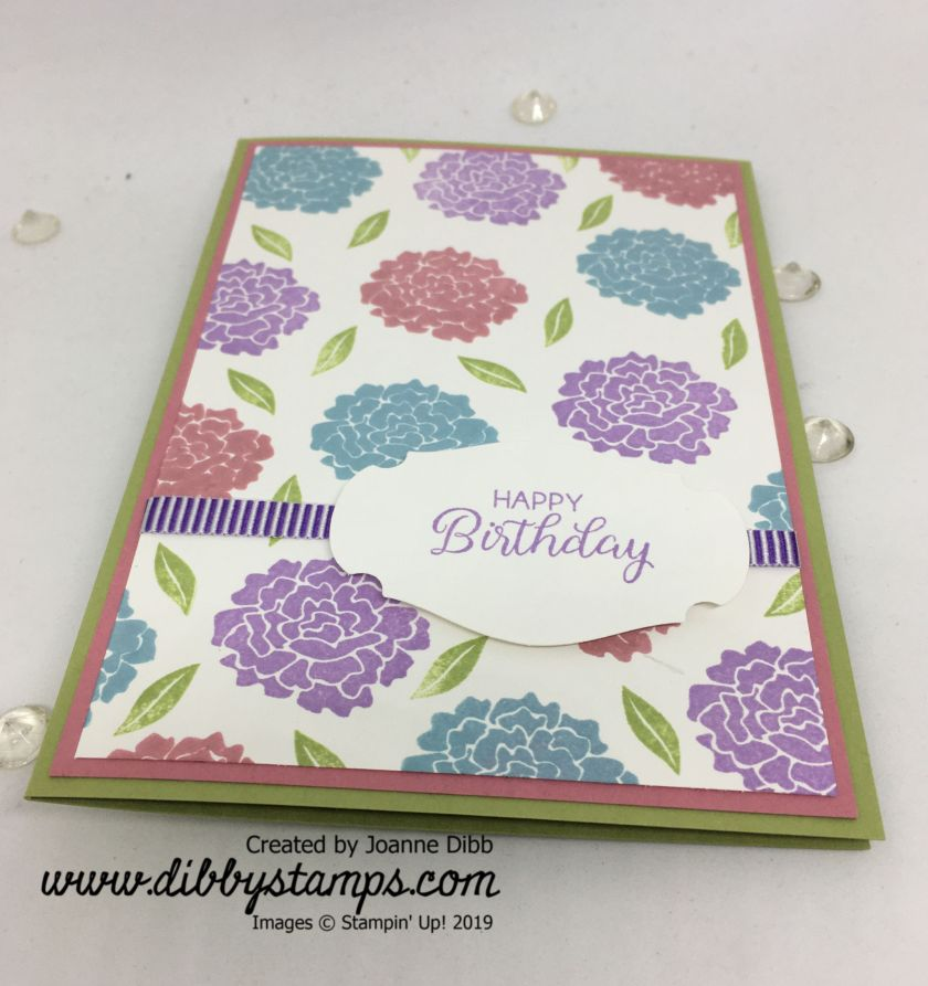 Simple Beautiful Bouquet Birthday Card (1)