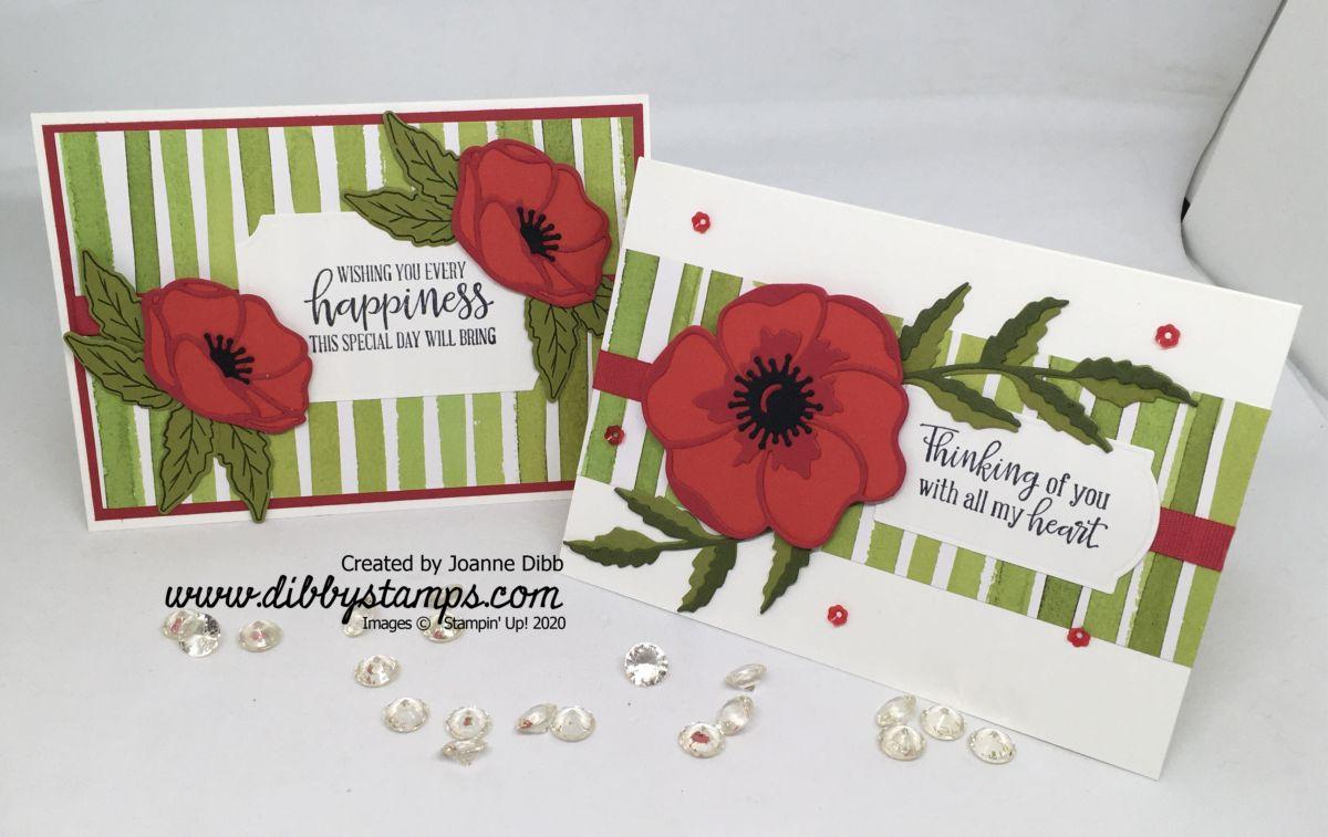 Poppy Card Duo