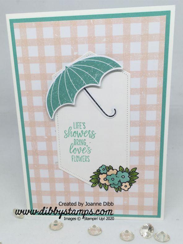 Under My Umbrella Pap DSP card 2