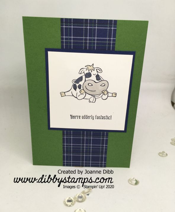 Simple Stamping - Over the Moon Card 1