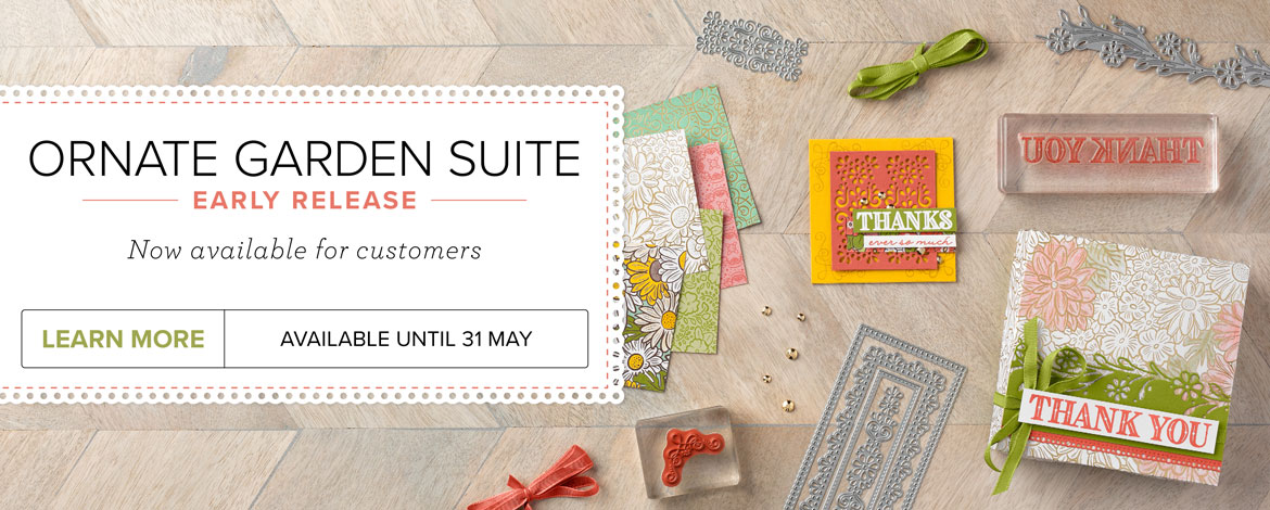 Early Release – Ornate Garden Suite, Available now