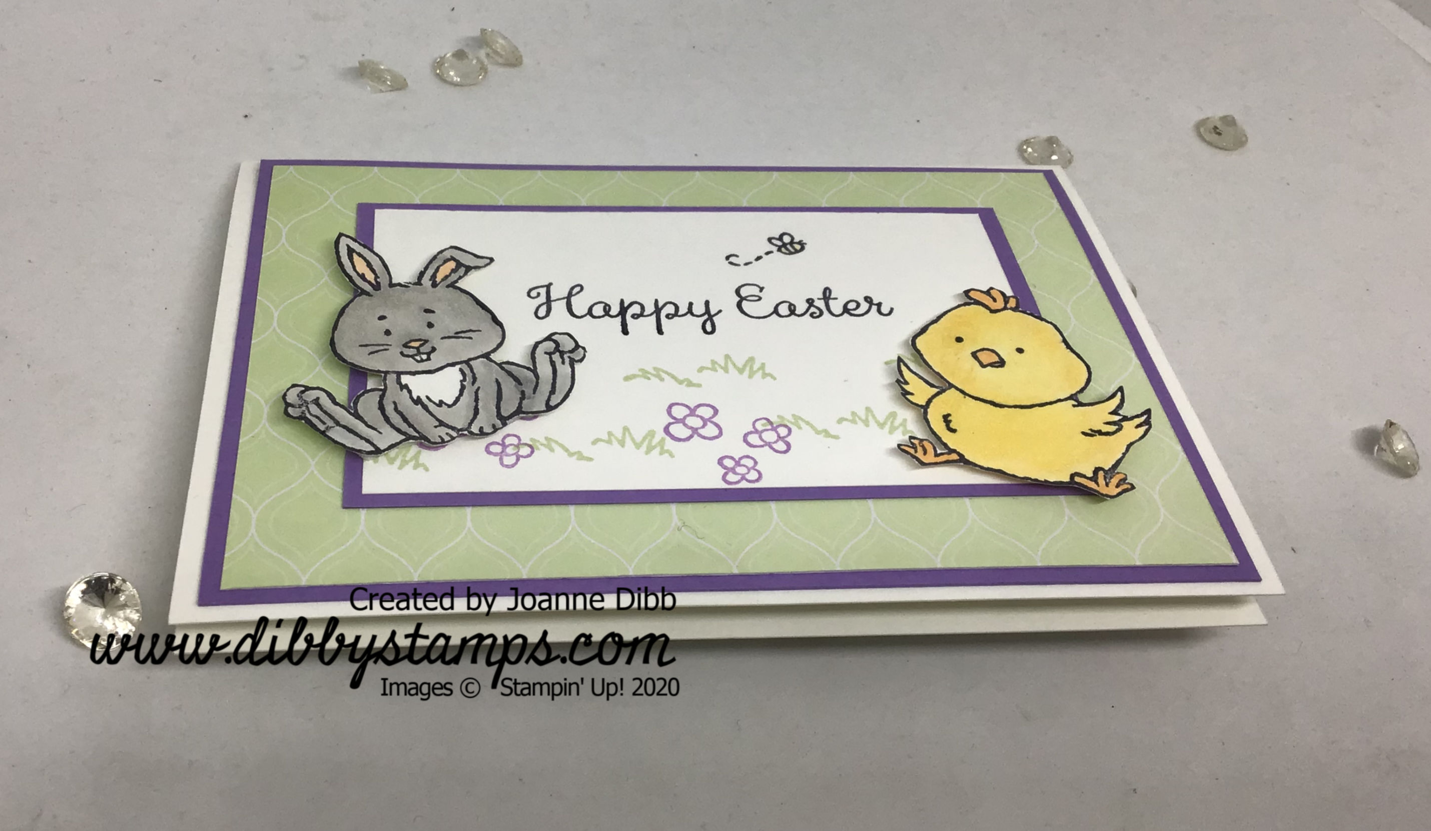 Happy Easter Card - flat