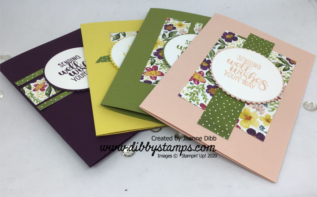 Floral Friday – Paper Scrap Cards