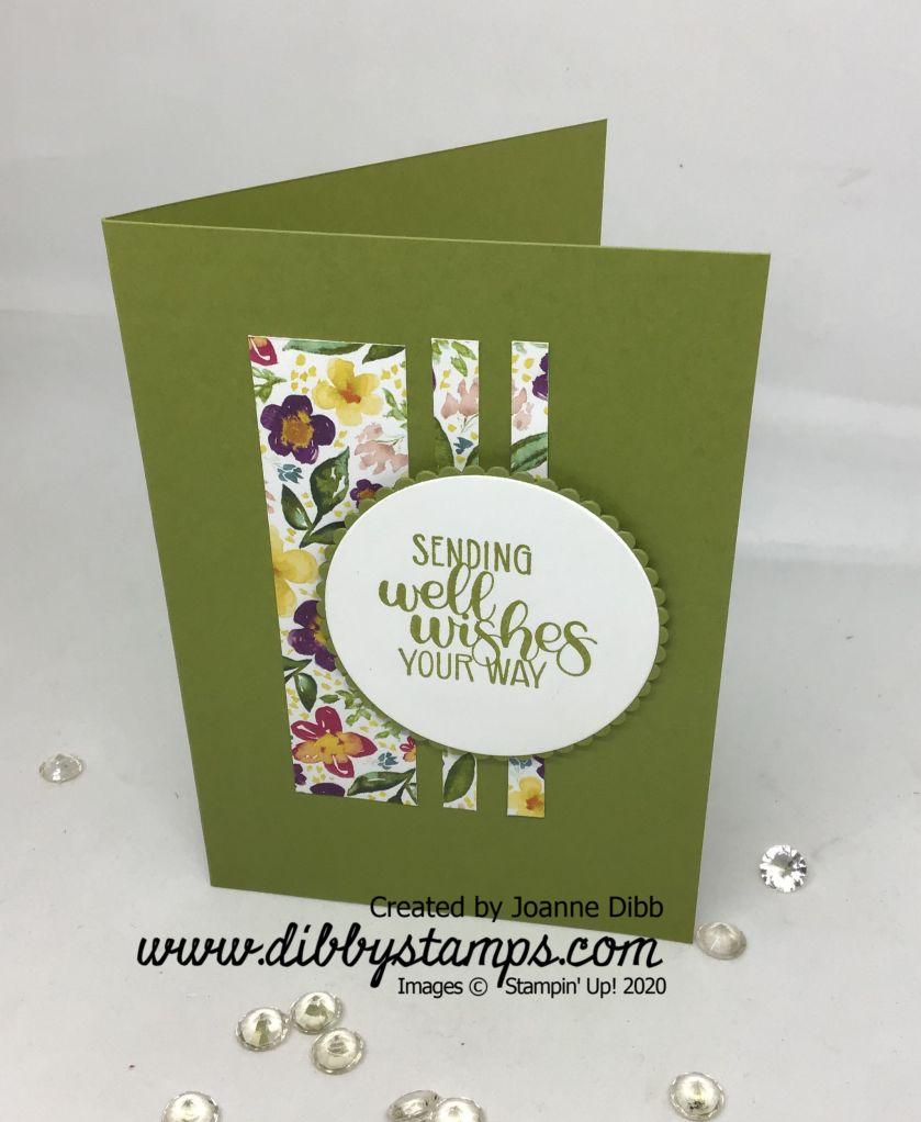 Floral Scraps Card - Daffodil Delight