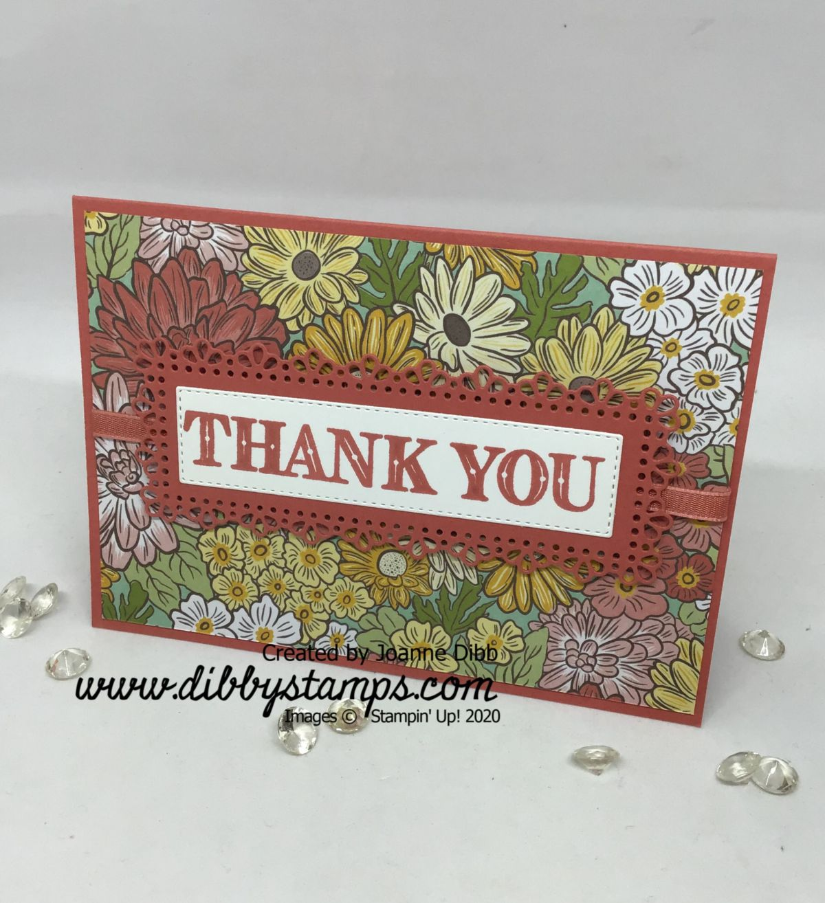 Ornate Garden Simple Thank You Card