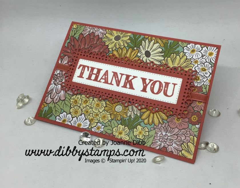 Ornate Garden Simple Thank You -flat