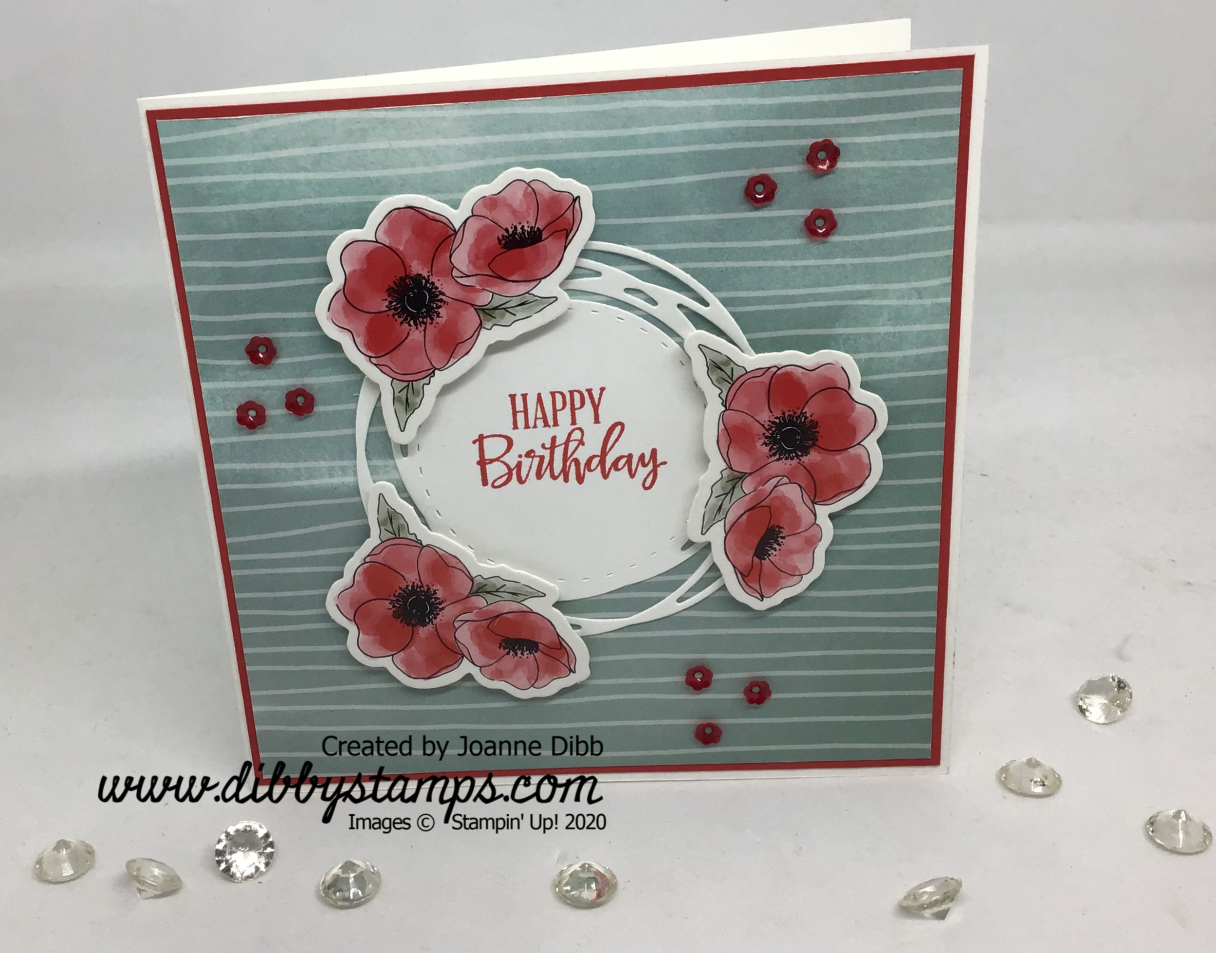 Peaceful Poppies Card Duo 1