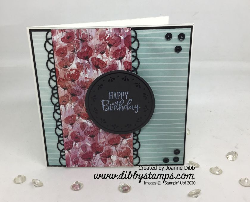 Peaceful Poppies Card Duo 2