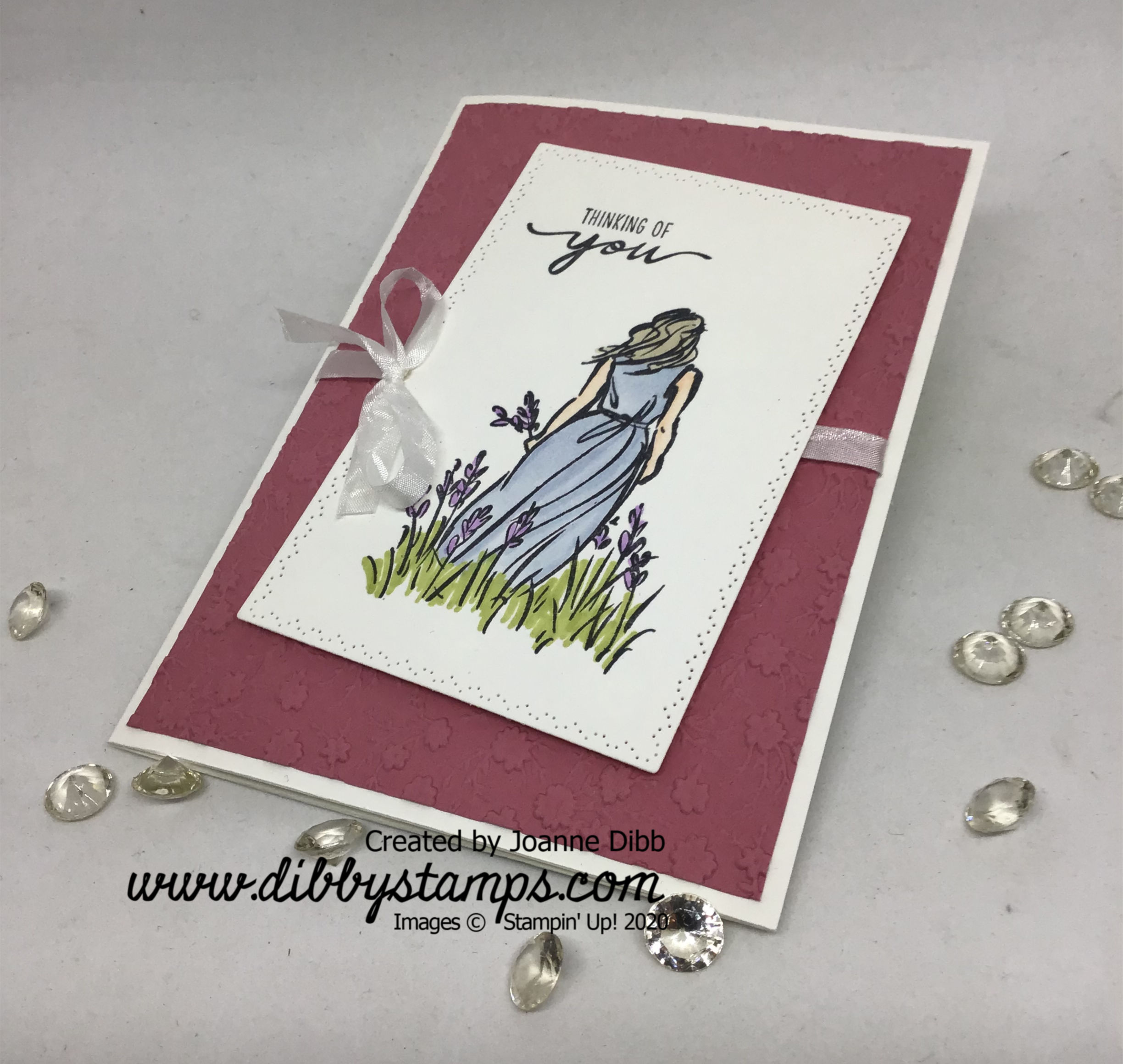 Thinking of You Card with Beautiful Moments - flat