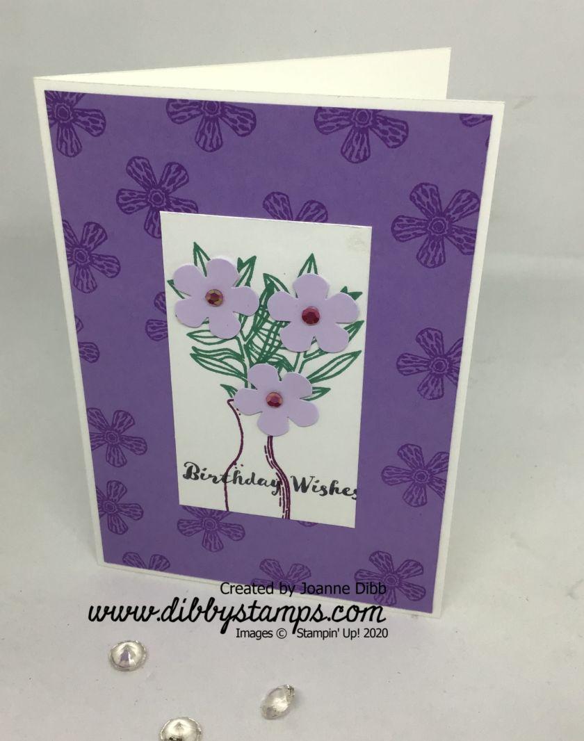 Basket of Blooms card 1