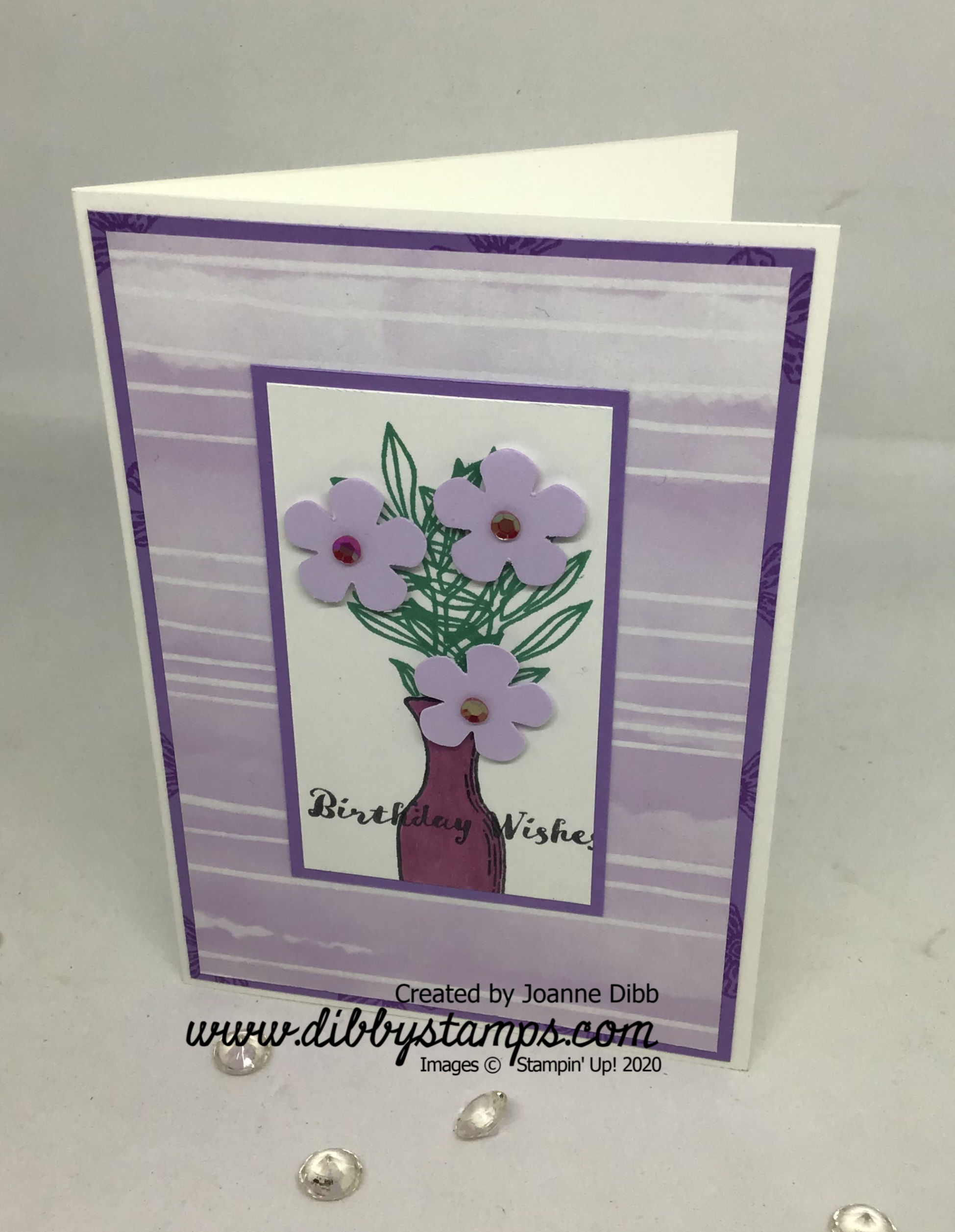Basket of Blooms card 2