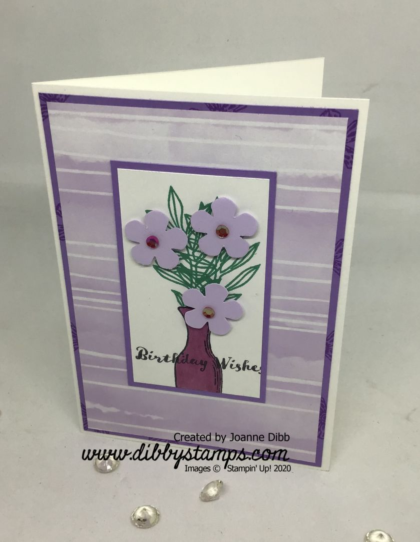Basket of Blooms card 2