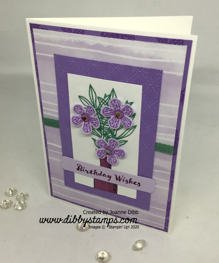 Basket of Blooms card 3