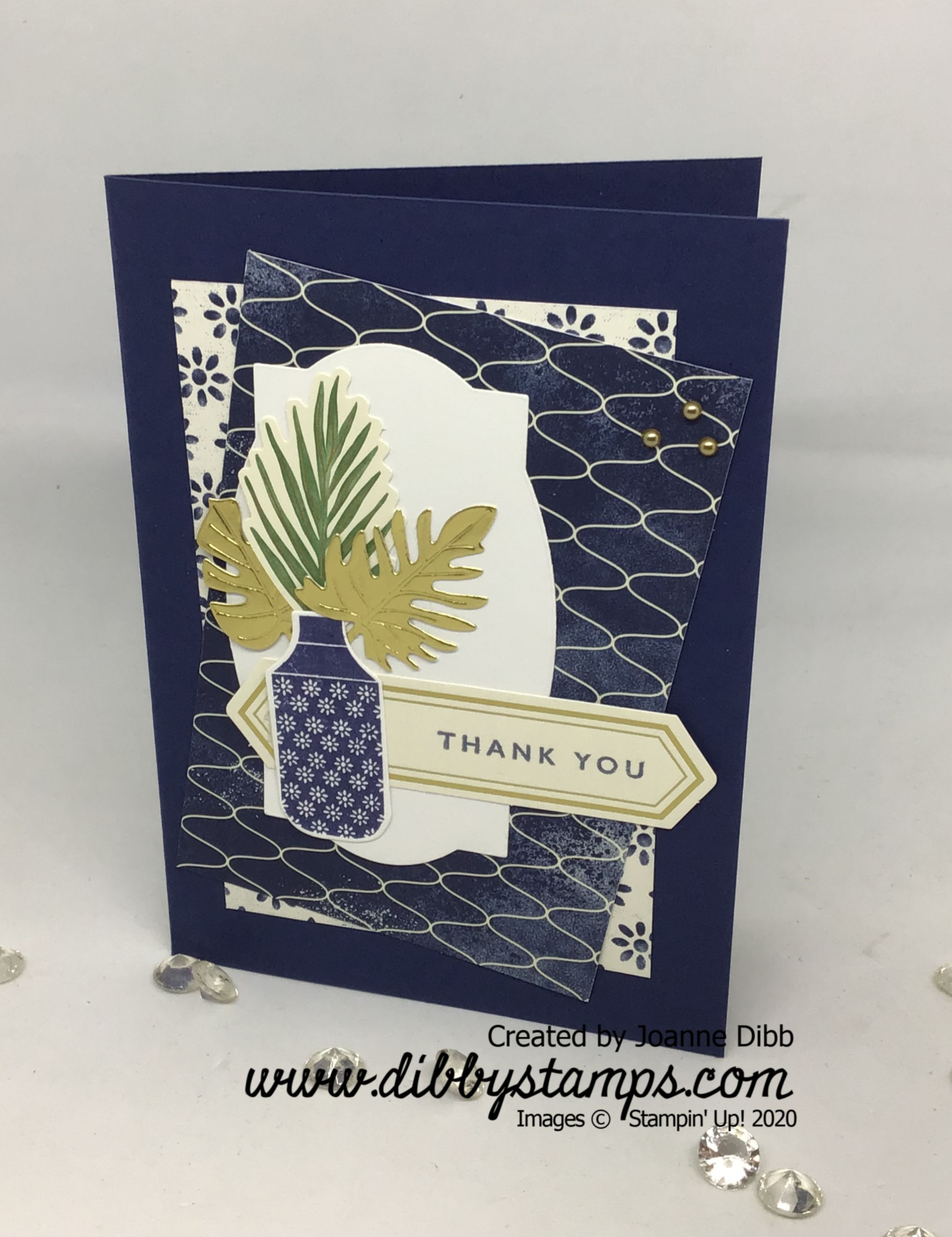 Boho Indigo Card 1