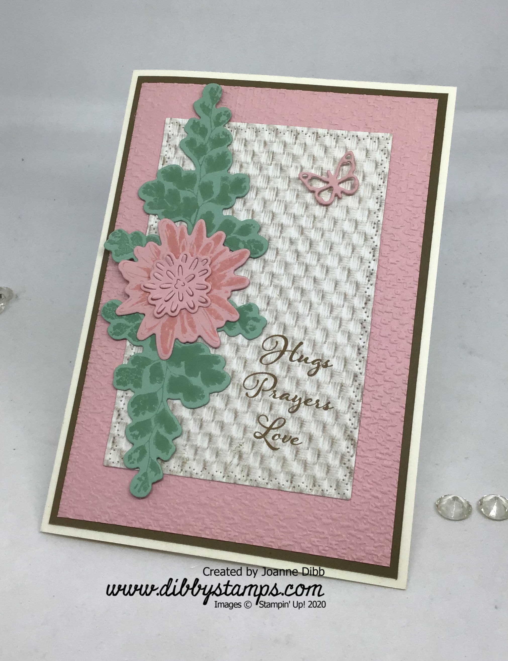 Positive Thougths Card - flat