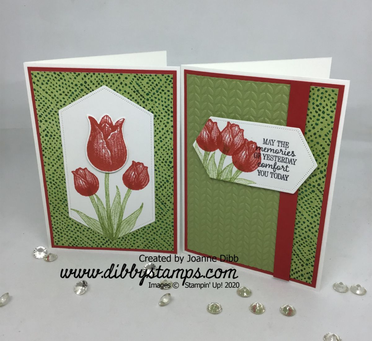 Floral Friday: Timeless Tulips Card Duo