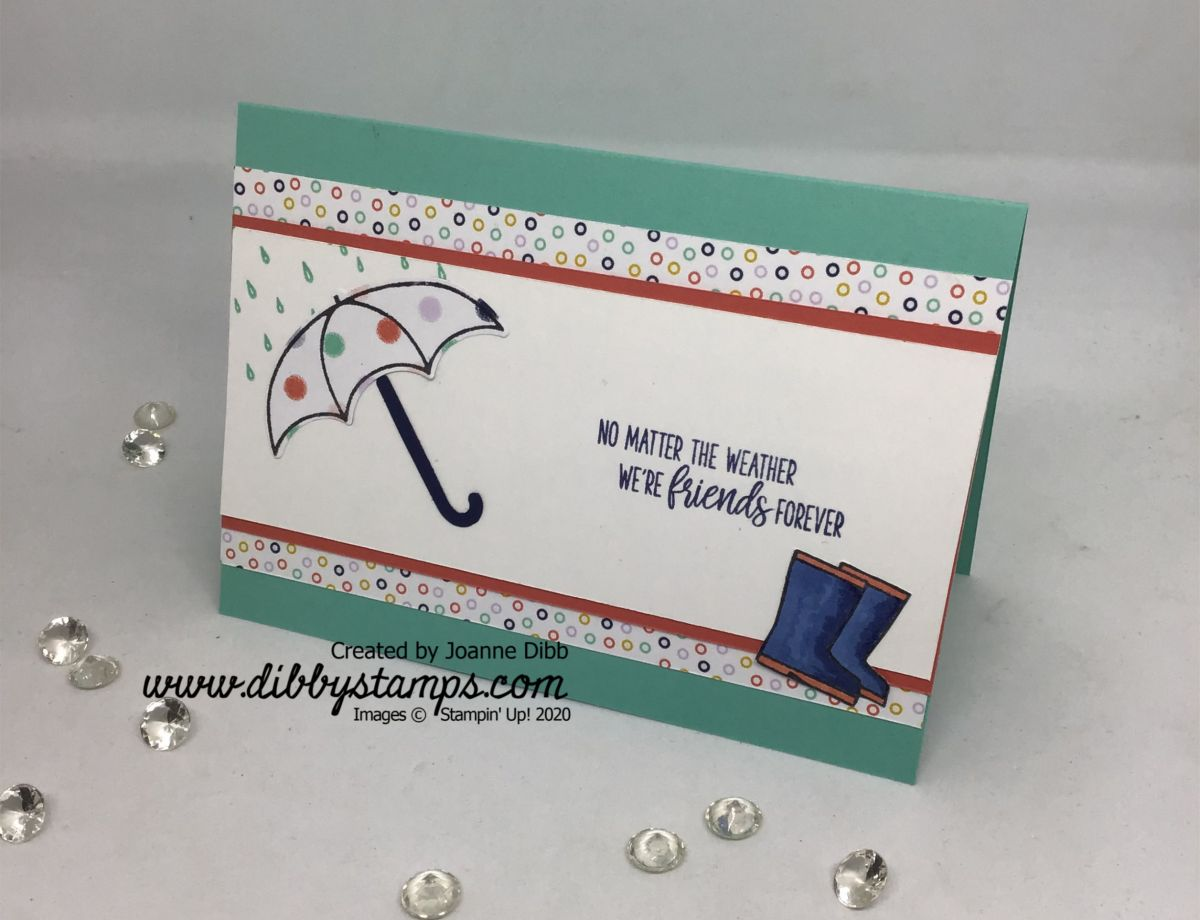 Cabana & Calypso Under My Umbrella Card