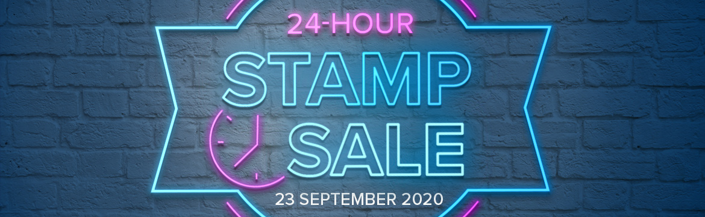 24hour Stamp Sale StartsNow!!
