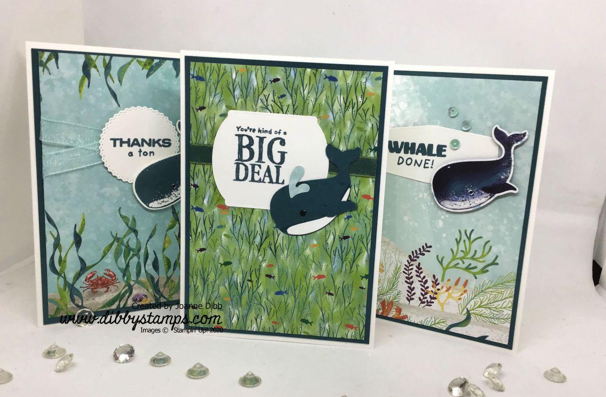 Three Card Thursday: A Whale of aTime
