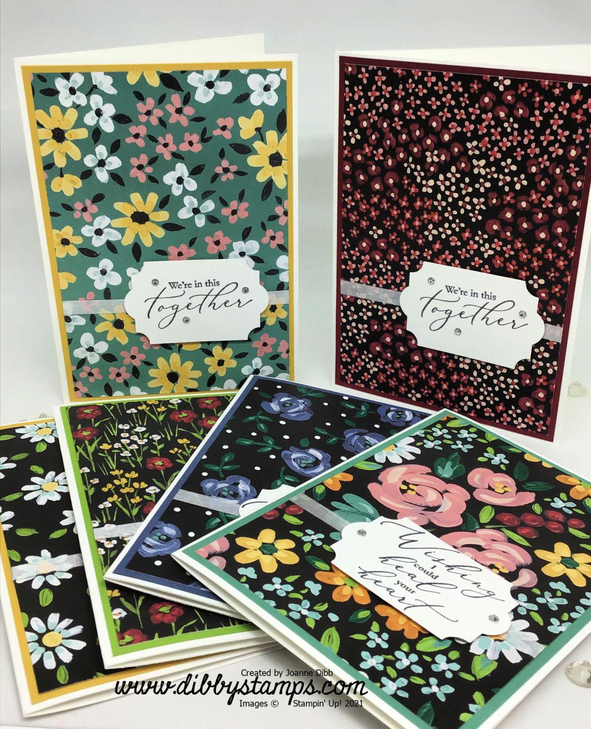 Flower and Field Designer Paper CardSet